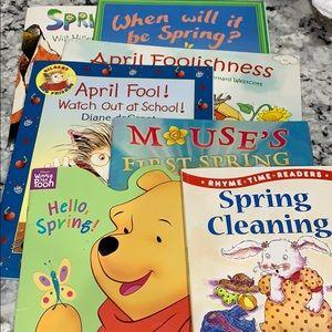 7 Spring & April Fools Books